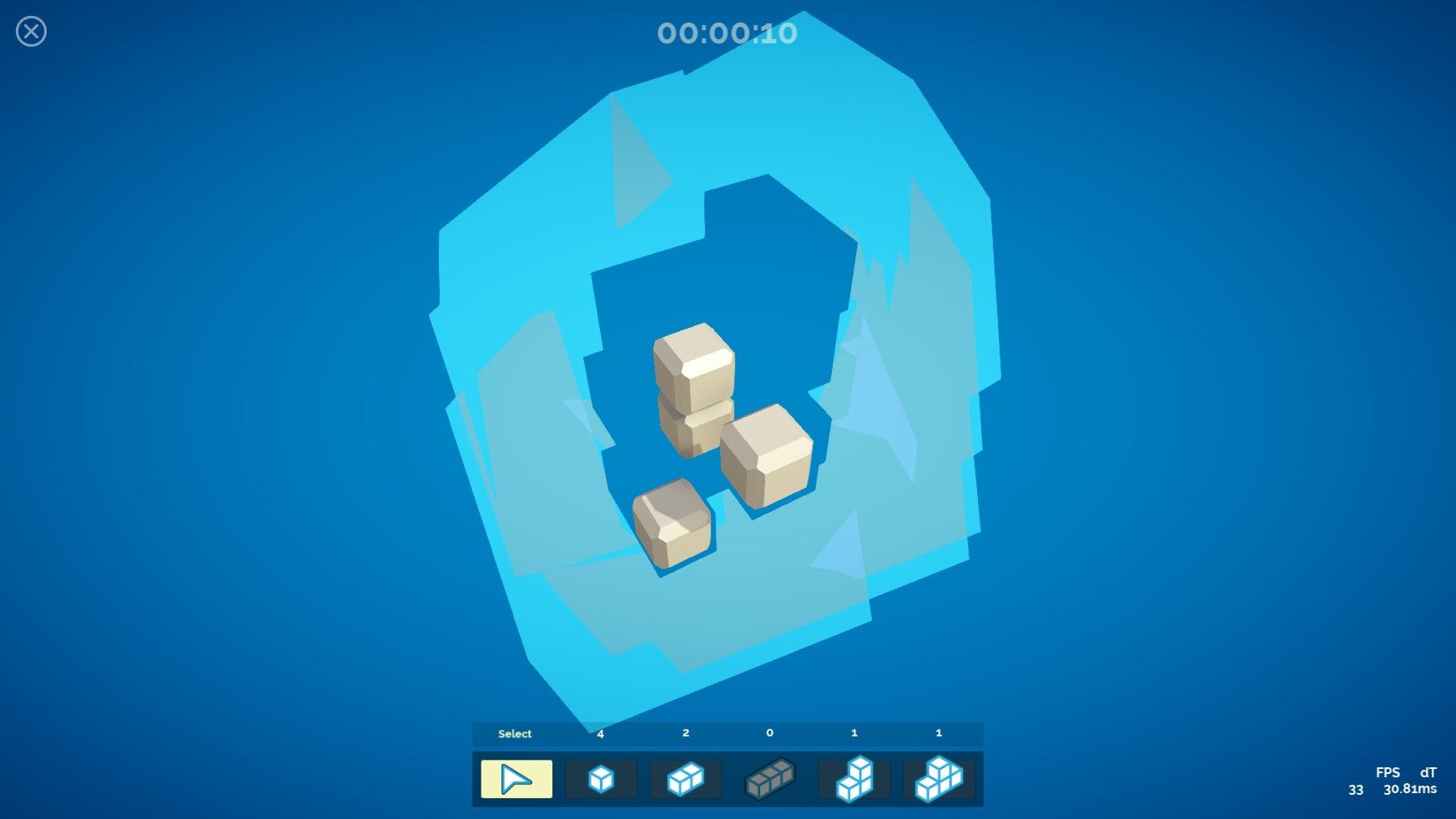 Hidden Cubes - A 3D puzzler - Devlogs - itch io