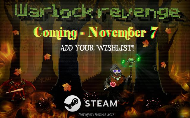 Warlock Revenge are coming!