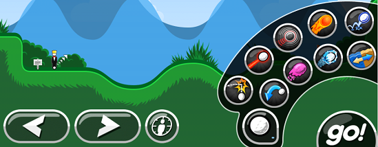 Super Stickman Golf Powerups