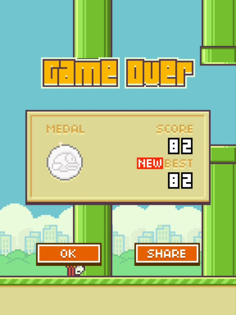 Flappy Bird High Score Sharing
