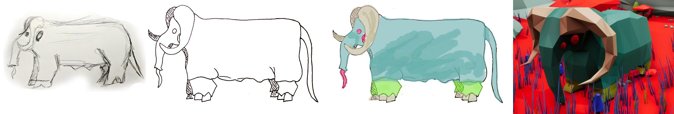 Progress of a creature