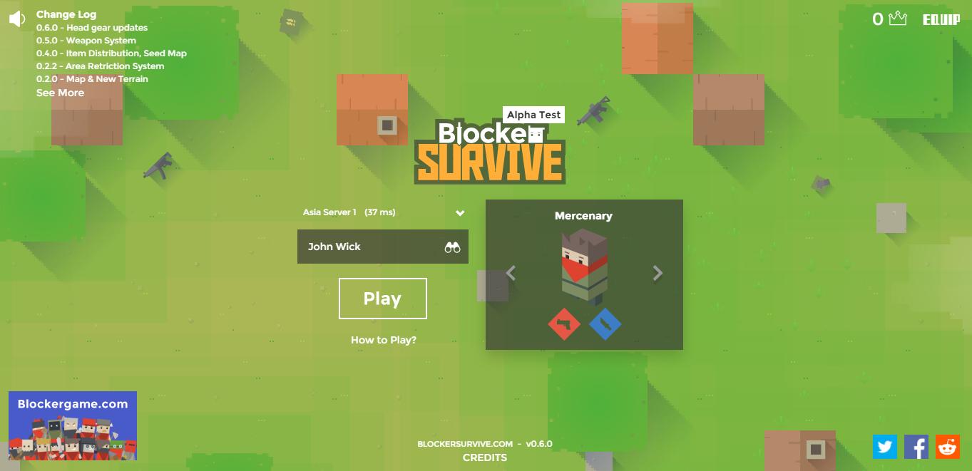 Blocker Survive: Alpha Test for Asian!! - Release