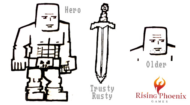 Rusty Blade Character Concept