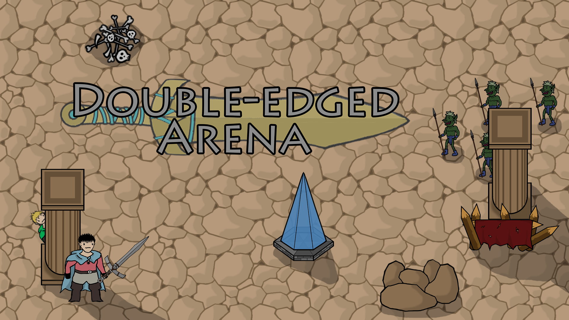 Double-Edged Arena
