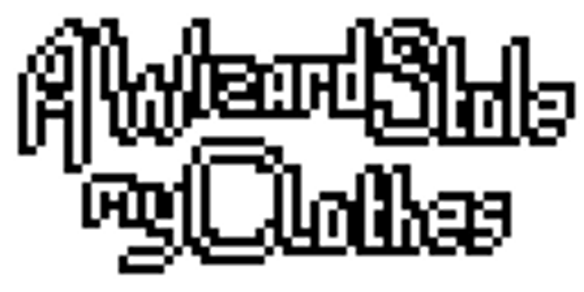 A WIZARD STOLE MY CLOTHES