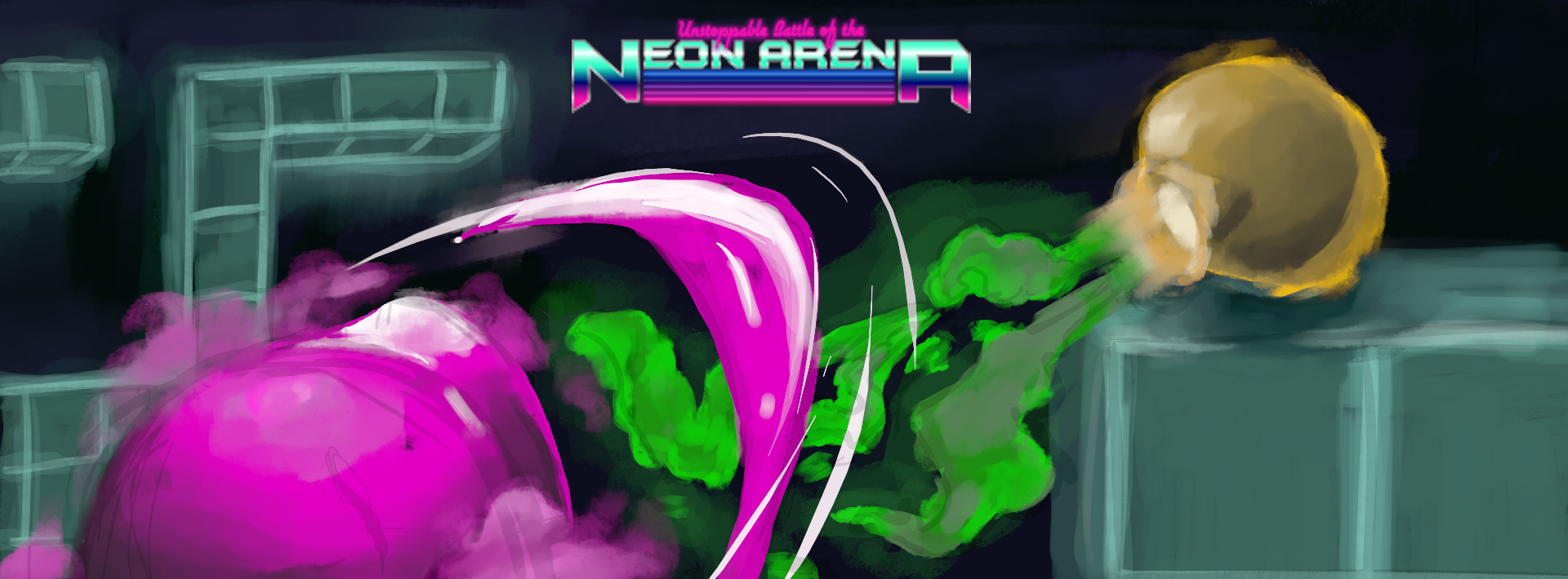Unstoppable Battle of the Neon Arena