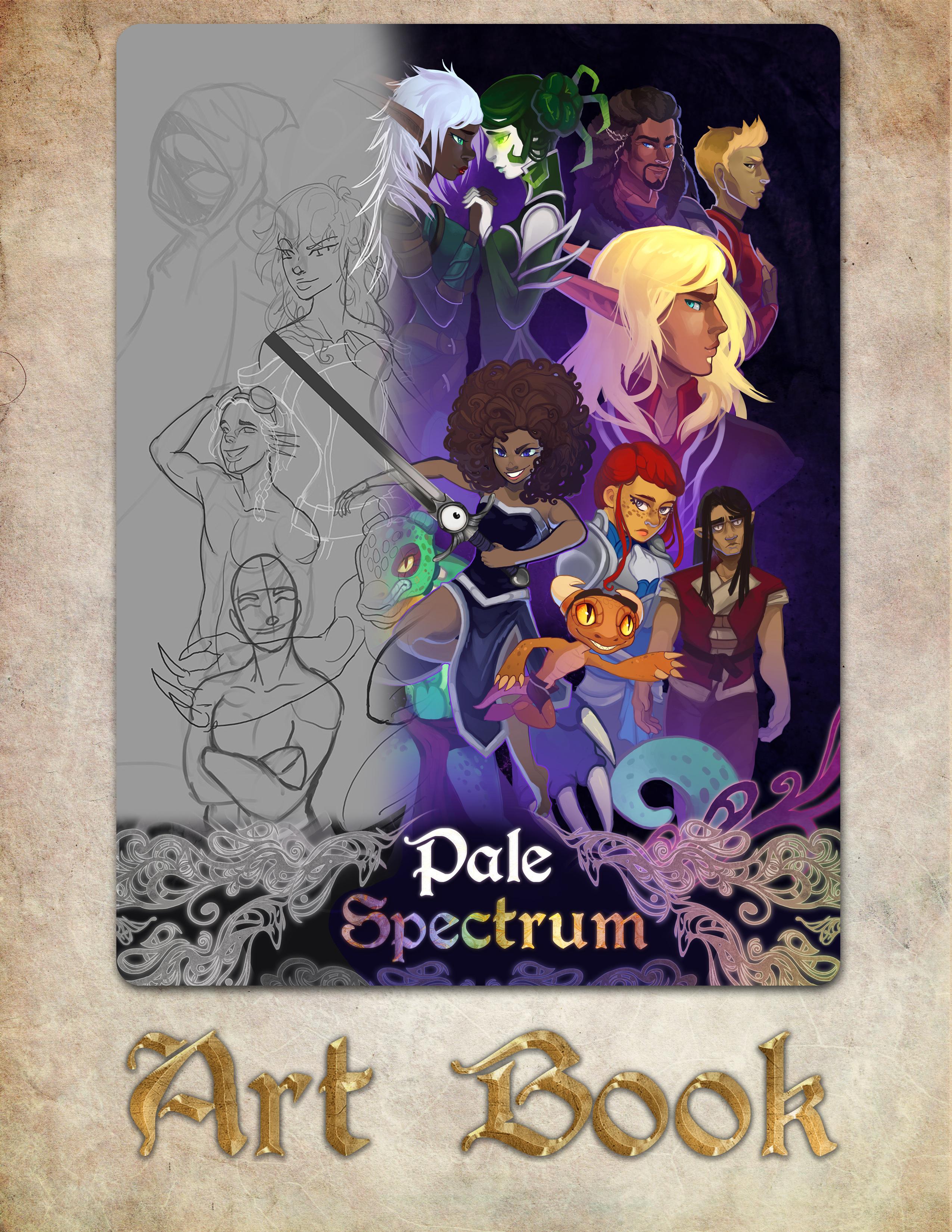 Pale Spectrum - Art Book