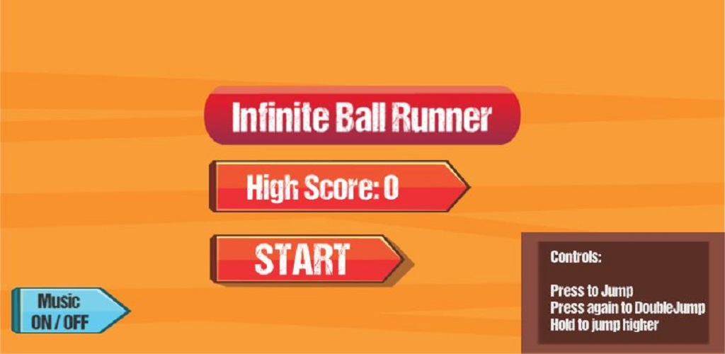 Infinite Ball Runner