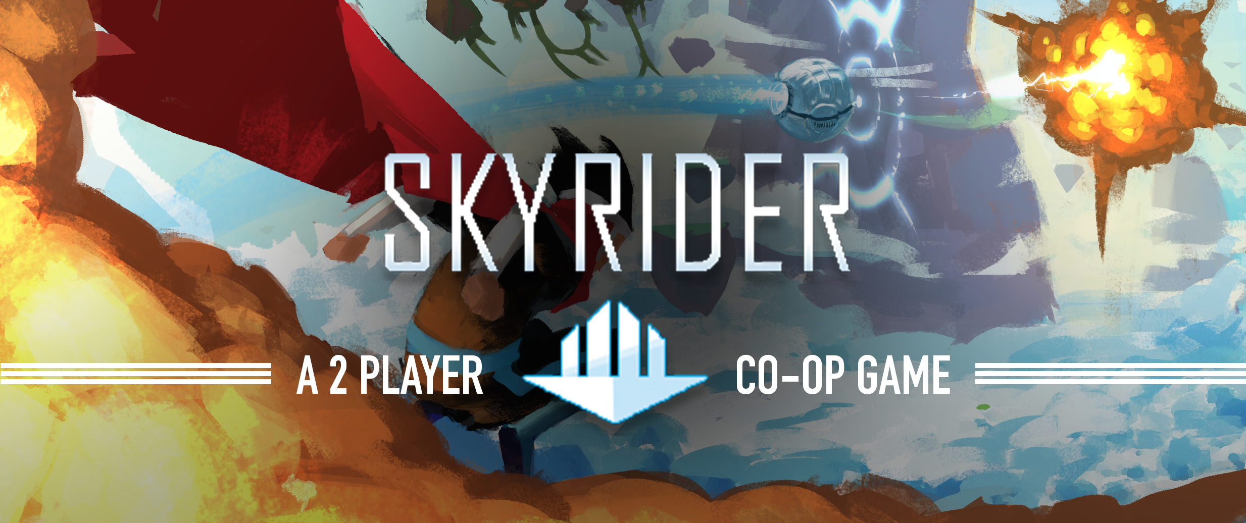SkyRider & the Journey to the AirCitadel - Full Co-Op!