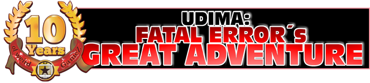 UDIMA: Fatal Error's Great Adventure