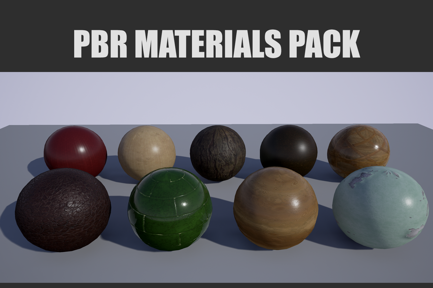 PBR Materials Pack
