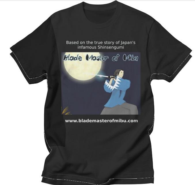 Blade Master of Mibu shirt