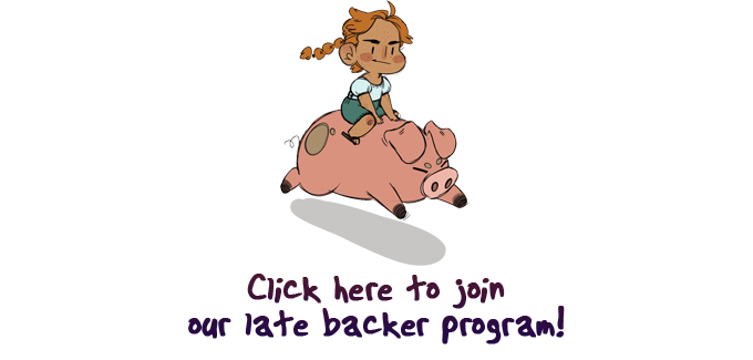 Click here to join our late backer program!