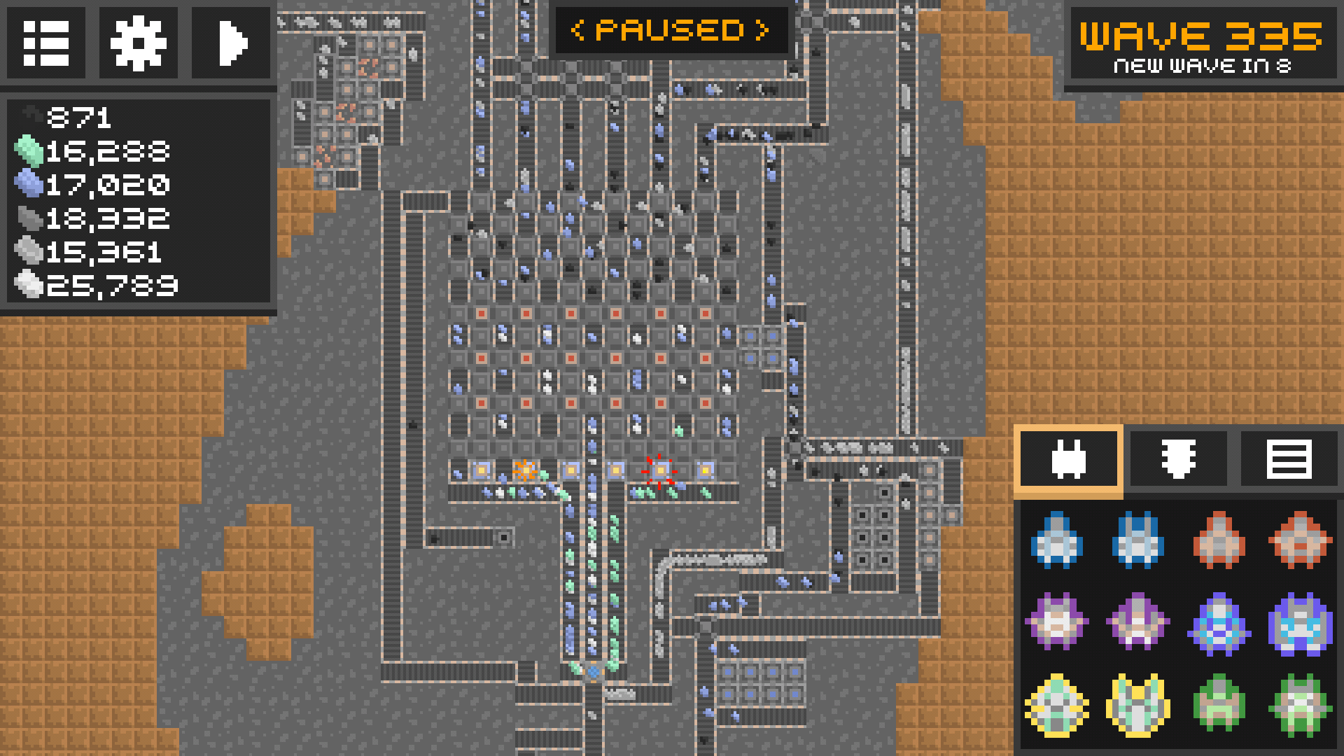 Factorio City Block Blueprint
