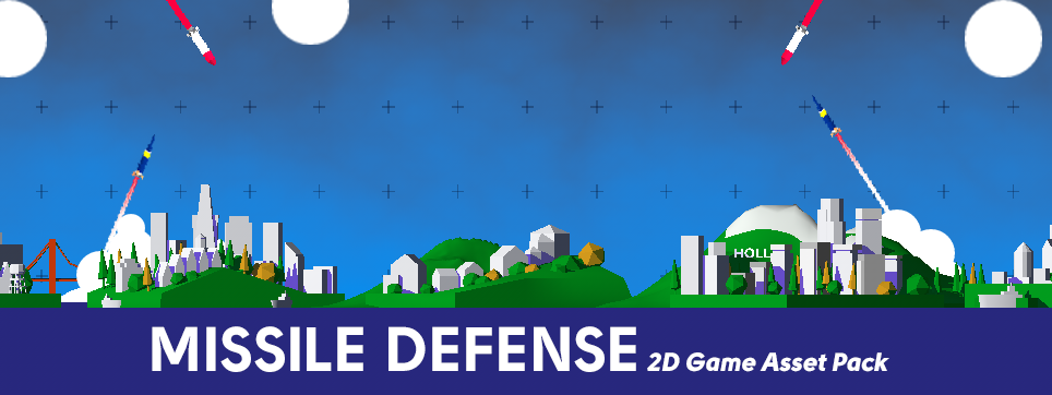 Missile Defense - Free 2D Game Asset Pack - Devils Work.shop