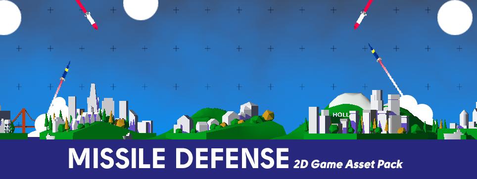 Missile Defense - Free 2D Game Asset Pack - Devils Work shop