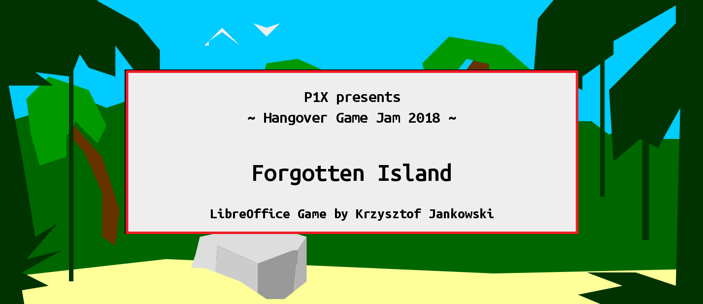 Forgotten Island (ODP Version)