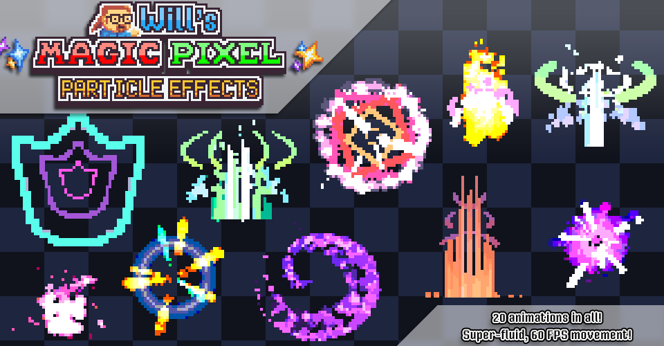 Will's Magic Pixel Particle Effects