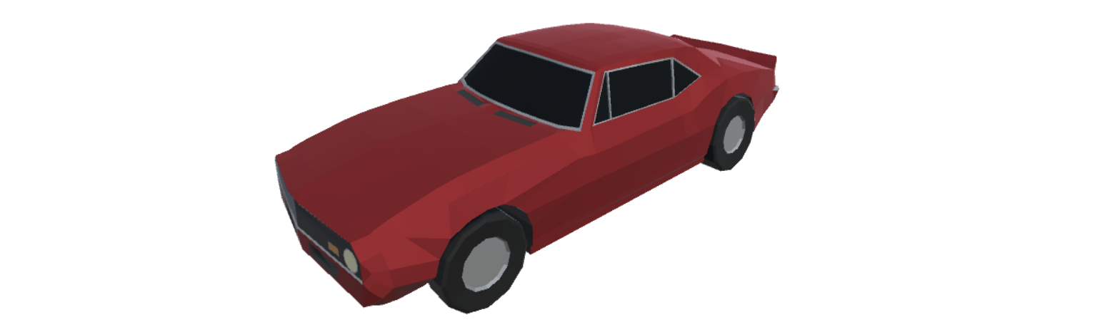 Low Poly Car - American Muscle 01 Release Sale - Release ...