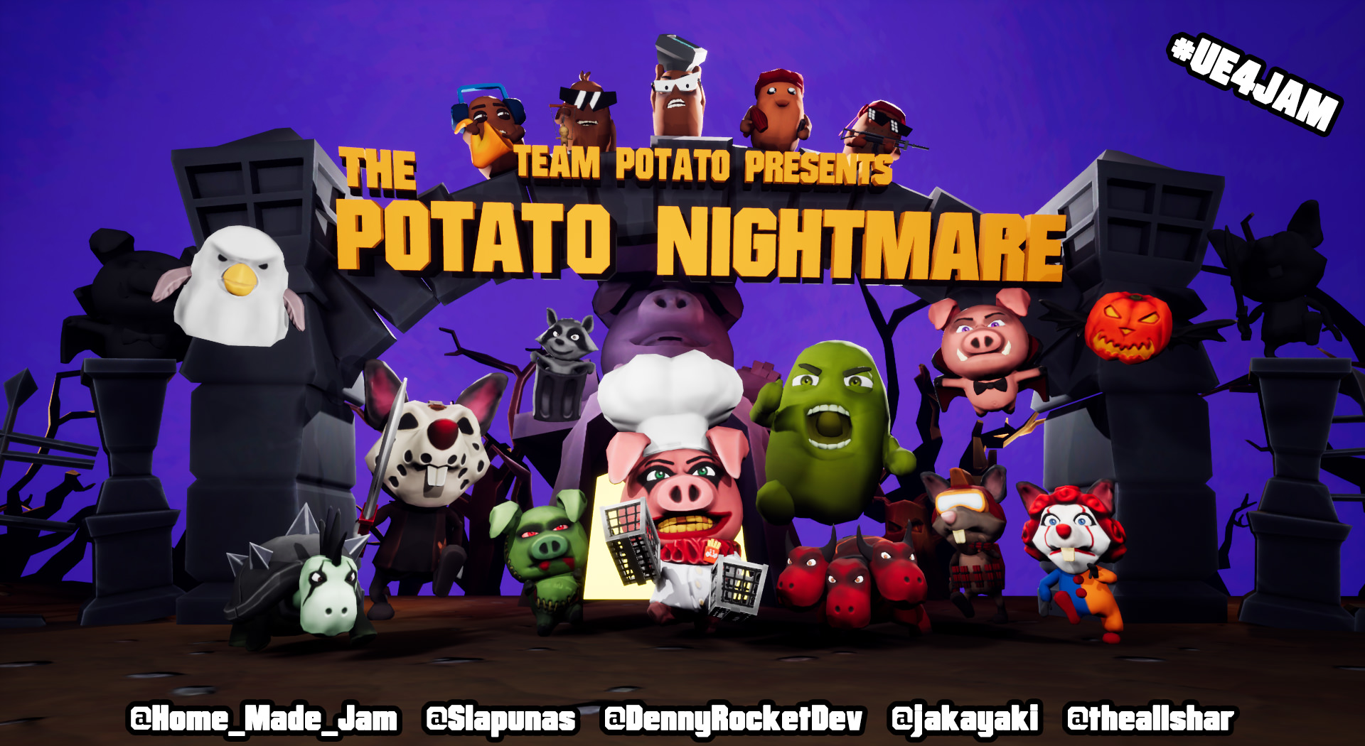 The Potato Nightmare TD