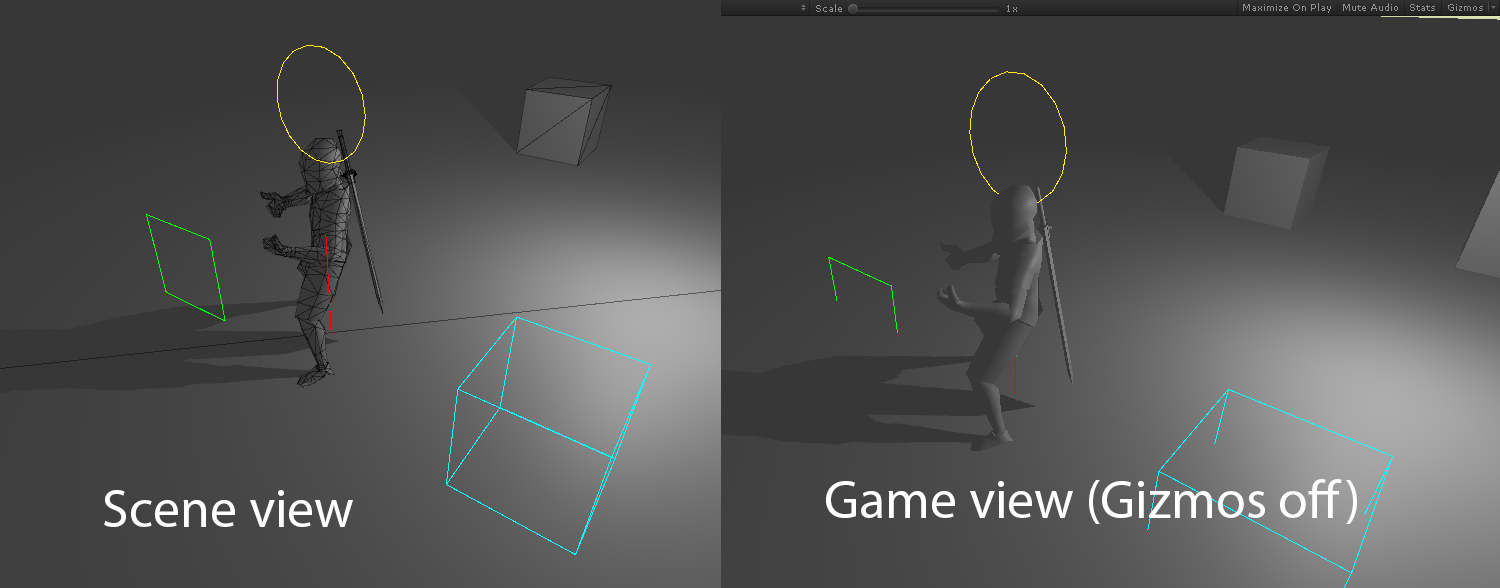 Drawing Unity gizmos in builds - General Development - itch io