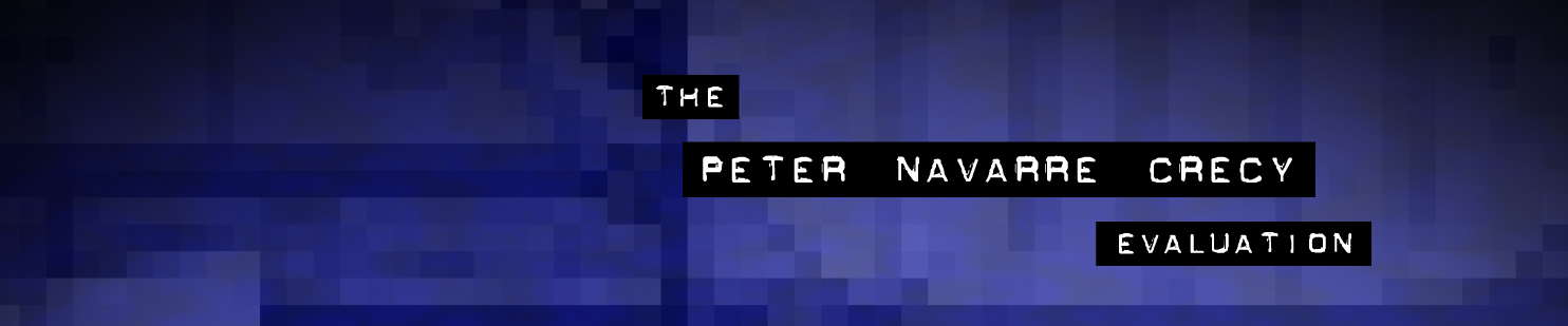 the Peter Navarre Crecy Evaluation