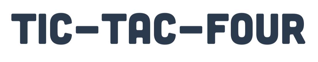 Tic-Tac-Four